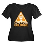 Love Your Cologne Women's Plus Size Scoop Neck Dar