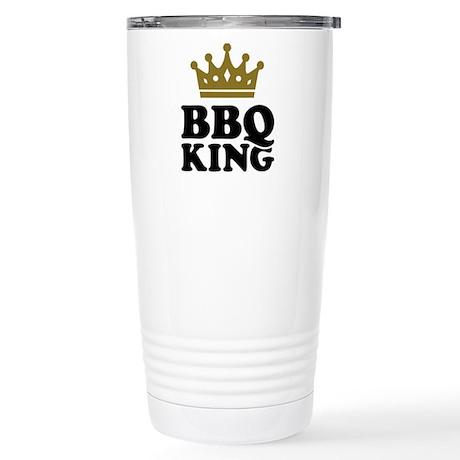BBQ King crown Stainless Steel Travel Mug
