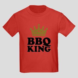 BBQ King crown Kids Dark T-Shirt