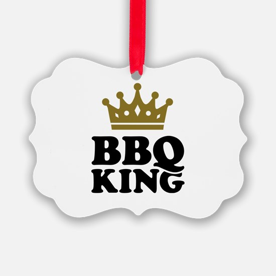 BBQ King crown Ornament