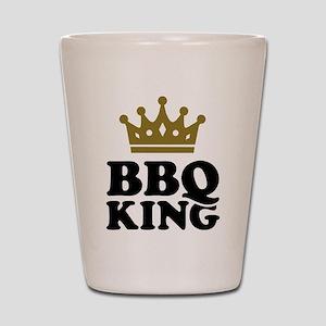 BBQ King crown Shot Glass