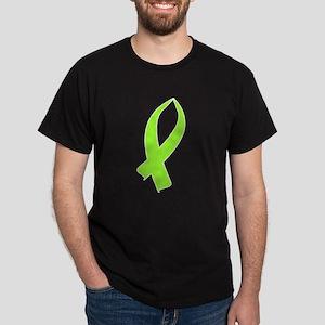 Awareness Ribbon (Lime Green) T-Shirt