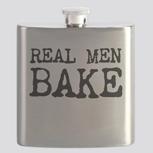 Real Men Bake Flask