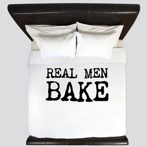 Real Men Bake King Duvet