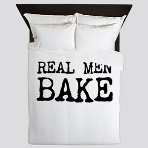 Real Men Bake Queen Duvet