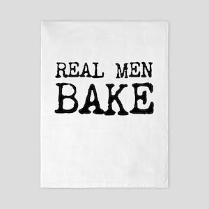 Real Men Bake Twin Duvet