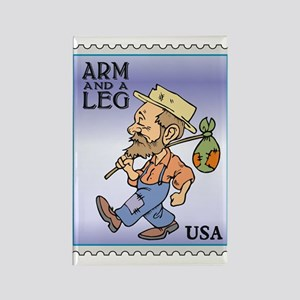 Arm And A Leg Bum Postage Increase Rectangle Magne