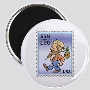 Arm And A Leg Bum Postage Increase Magnet