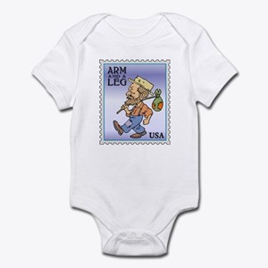 Arm And A Leg Bum Postage Increase Infant Bodysuit