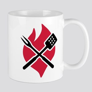 BBQ barbecue Fire Mug