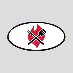 BBQ barbecue Fire Patches