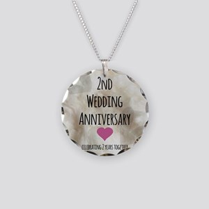 2nd Wedding Anniversary Necklace