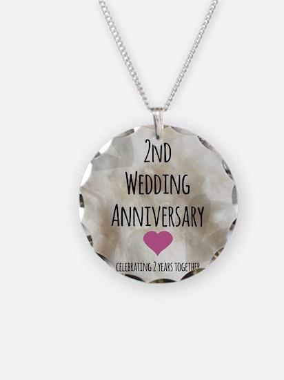 2nd Wedding Anniversary Necklace