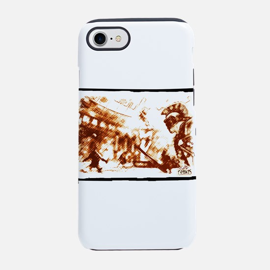 Cruent duel in the ancient Rom iPhone 7 Tough Case