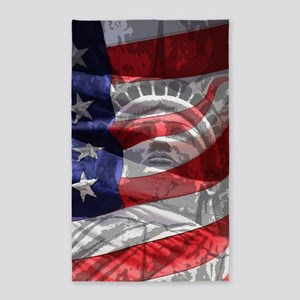 Statue of Liberty 3'x5' Area Rug