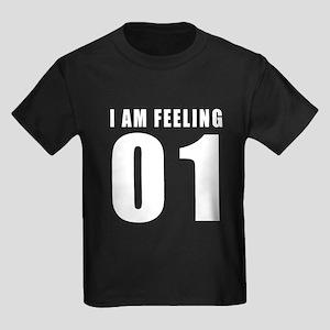 I am feeling 01 Kids Dark T-Shirt