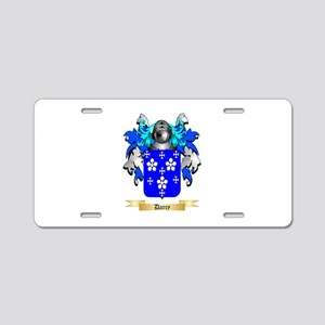 Darcy Aluminum License Plate