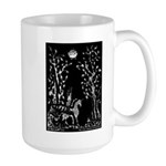 Alicorn and the great trees left hand Large Mug