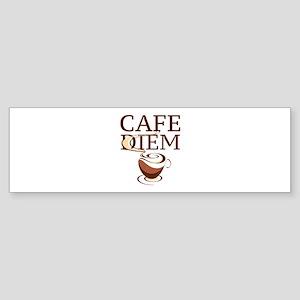 Cafe Diem Sticker (Bumper)