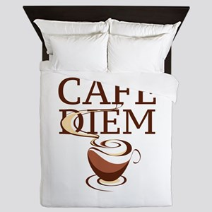 Cafe Diem Queen Duvet