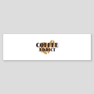Coffee Addict Sticker (Bumper)