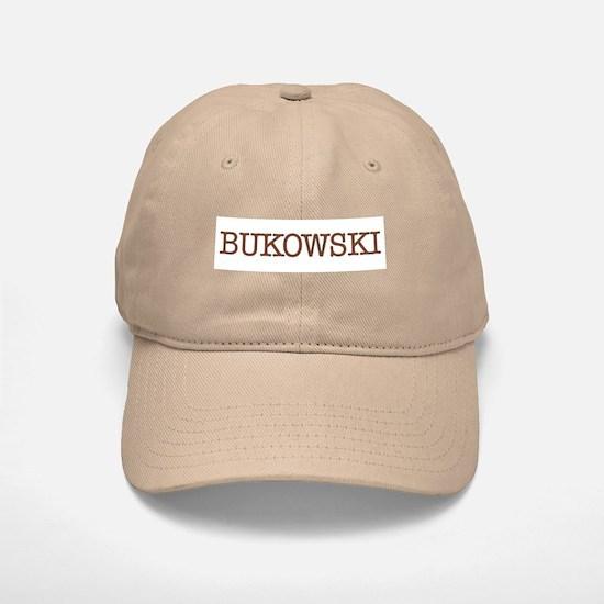 Bukowski Baseball Baseball Cap