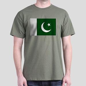 Pakistani flag Dark T-Shirt