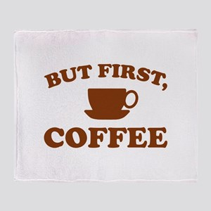 But First, Coffee Stadium Blanket
