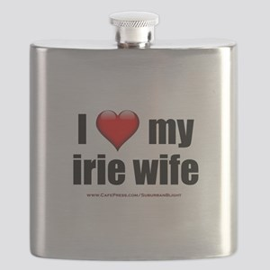 """I Love My Irie Wife"" Flask"