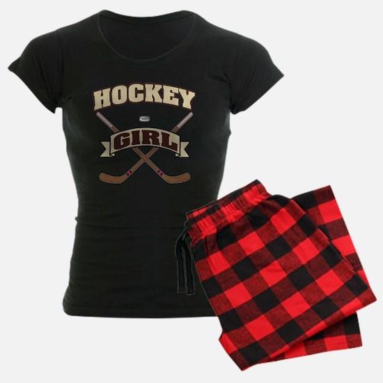 Hockey Girl Pajamas
