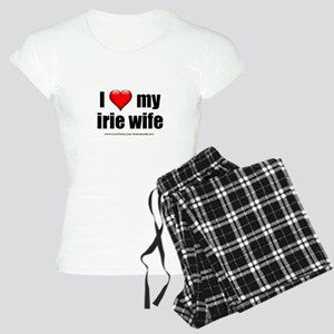 """I Love My Irie Wife"" Women's Light Pajamas"