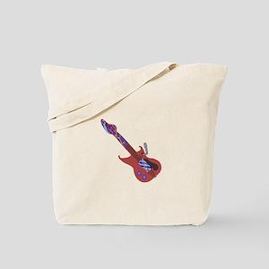 Celtic Guitar Tote Bag