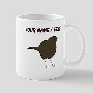 Custom Black Bird Mugs