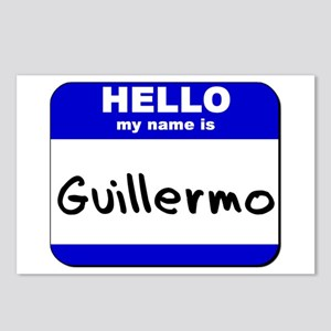 hello my name is guillermo  Postcards (Package of