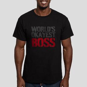 Worlds Okayest Boss T-Shirt | Office Humor