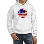 USA Smiley Hooded Sweatshirt