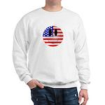 USA Smiley Sweatshirt