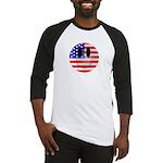 USA Smiley Baseball Jersey