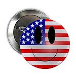 USA Smiley Button