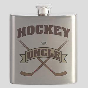 Hockey Uncle Flask