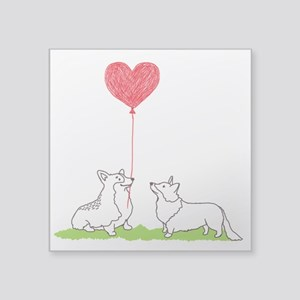 Corgi Valentine - Sticker