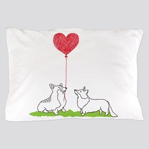 Corgi Valentine - Pillow Case