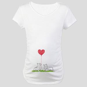 Corgi Valentine - Maternity Shirt