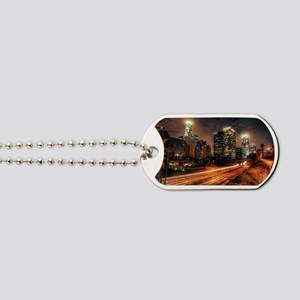 HDR Los Angeles Freeway Dog Tags