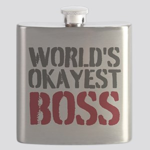 Worlds Okayest Boss Flask