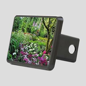 Spring woodland garden Rectangular Hitch Cover