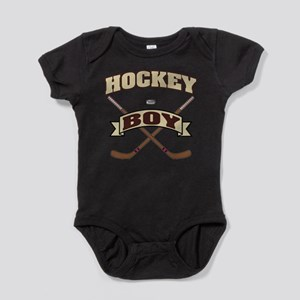 Hockey Boy Baby Bodysuit