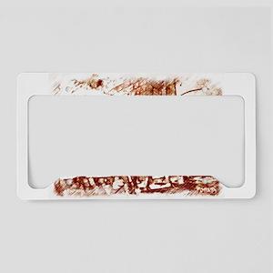 The tartle License Plate Holder
