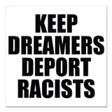 Daca Square Car Magnets