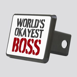 Worlds Okayest Boss Hitch Cover